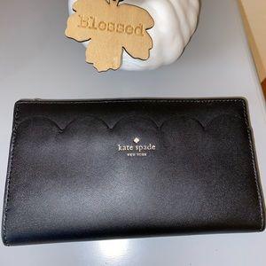 Kate Spade Magnolia Street scalloped wallet